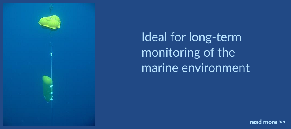 Ideal for long-term monitoring of the marine environment
